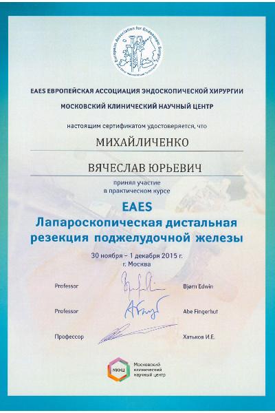 Европейская ассоциация эндоскопической хирургии